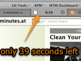 X.minutes.at Sets Time Limits for Browsing Any Site, No Extension Required