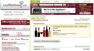 LocalWineEvents Indexes Wine Tasting Tours and Dinners