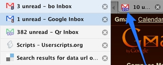 Fix Unread Gmail Favicons in Better Gmail 2 and Greasemonkey