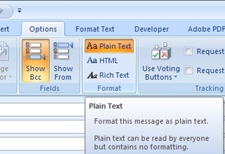 Convert Outlook Emails to Plain Text, One-by-One or Permanently