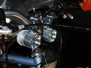 DIY Hi-Low Beam Bike Headlights from Hardware Store Parts