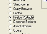 DefaultBrowser Sets a Portable Browser to System Default
