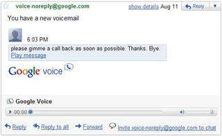 Google Voice Message Playback Comes to Gmail