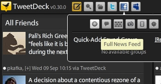 TweetDeck Updates with Better Facebook, New MySpace Support