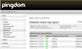 Pingdom Uptime-Monitoring Service Now Offering Free Accounts