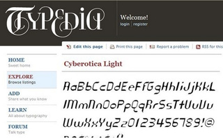 Typedia Sorts and Shares Fonts in a Community-Based Font Catalog