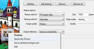 Resize My Photos Batch Resizes Photos Quickly