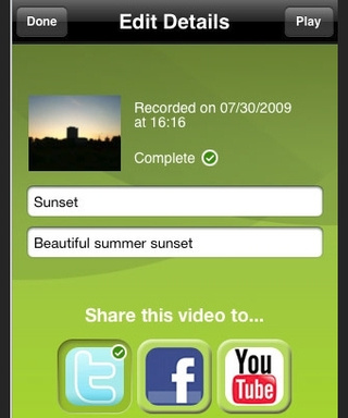 Qik Brings Video Sharing App to iPhone 3GS