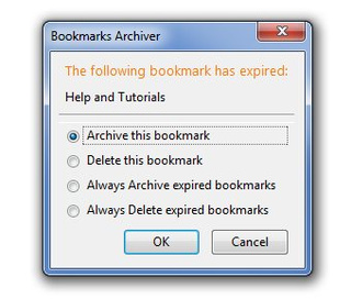 Bookmarks Archiver Automatically Cleans Old Bookmarks