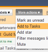 Gmail Tasks Keeps It (Too) Simple