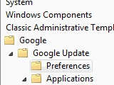 Use Group Policy Editor to Customize or Disable Google Update