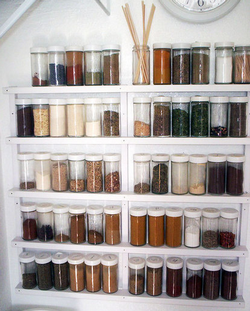 Build a Minimalist Spice Rack