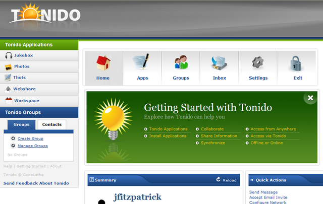 Tonido Keeps Cloud Computing Local