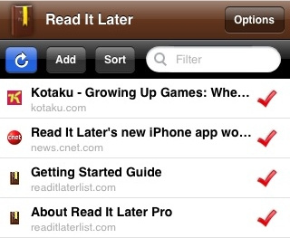 Read It Later Brings Offline Reading to the iPhone