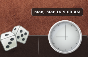 GNOME Do Updates with New Clock, Lots of Fixes