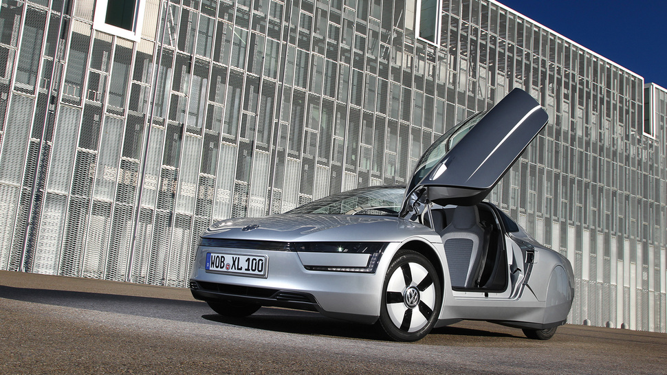 This Is Volkswagen's Crazy Awesome 261 MPG Car