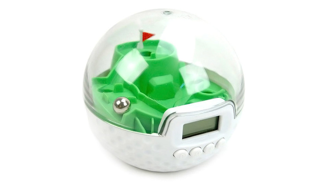 Want To Snooze? This Annoying Alarm Clock Makes You Sink a Putt First