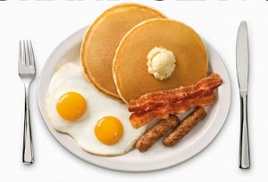 Denny's Giving Away Free Grand Slam Breakfast Today