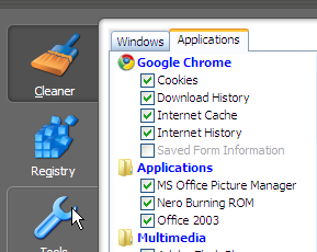 CCleaner Cleans Up After Chrome