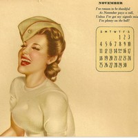 Find Vintage Calendars for Reuse