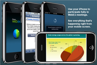 Cisco WebEx Brings Online Meetings, Collaboration to Your iPhone