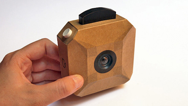 All You Need Is Glue, a Knife, and Mad Soldering Skills to Build Your Own Cardboard Camera
