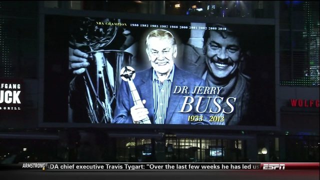 The Lakers Set Their Pregame Jerry Buss Tribute To The Song &qu…