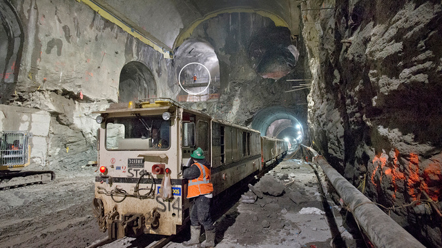 Click here to read Incredible Images of the Massive New Tunnels Hollowing New York City