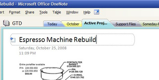 Getting Things Done With Microsoft OneNote