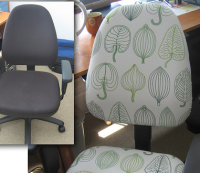 Reupholster an Office Chair for a Designer Workspace