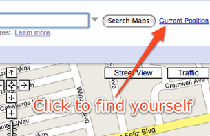 Instantly Locate Yourself on Google Maps