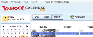 Yahoo Calendar Beta on Track to Challenge Google Cal