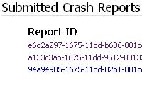 about:crashes Shows You Every Submitted Firefox Crash