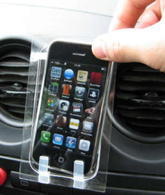 DIY iPhone or iPod Touch Car Dock