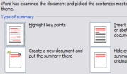 Create Auto-Summaries for Word 2007 Documents