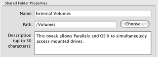 Access USB Drives in Parallels and Your Mac Simultaneously