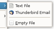 Add New Document Templates to GNOME's Right-Click Menu