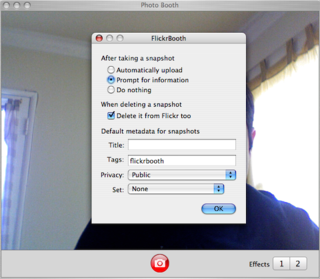 Download of the Day: FlickrBooth (Mac)
