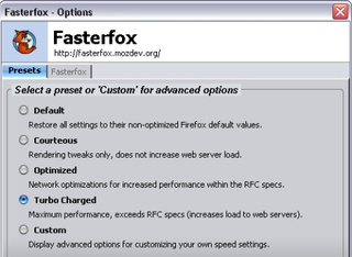Download of the Day: Fasterfox (Firefox)