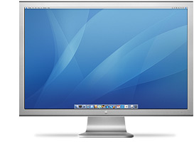 Apple claims 30 inch cinema display boosts productivity