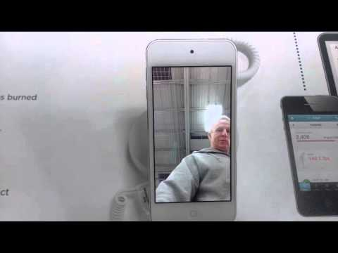 Jim Haslett turns up on a random iPod at Best Buy