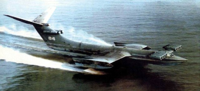 That time the Russians designed a hovercraft so insane we had no clue what the hell it was