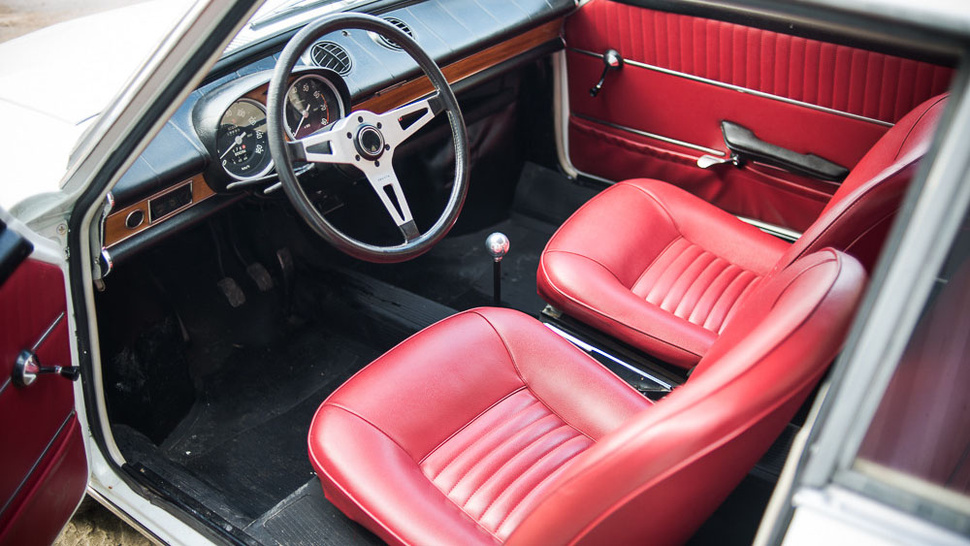 This Abarth's Interior Is Just Wonderful