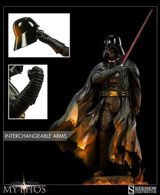 Darth Vader even ponders like a badass in this unbelievable new statue