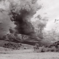 This Gorgeous Timelape of Australia's Outback Isn't Just Monochrome-It's Infra-Red