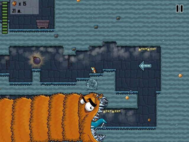 A Vicious Man-Eating Worm Chases You Through This Week in Gaming Apps