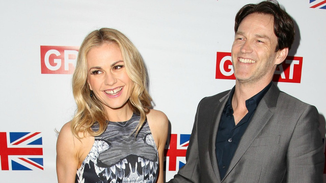 Anna Paquin and Stephen Moyer Bare Their Fangs