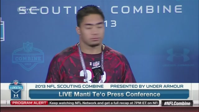Manti Te'o Says That If He Were Still Embarrased By The Whole F…