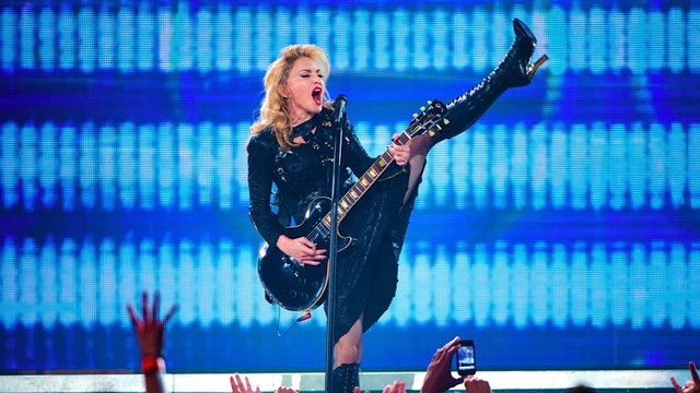 Madonna Ran Afoul of Instagram Nudity, Copyright Police