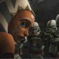 On Clone Wars, fugitive Ahsoka gets a little help from the Dark Side